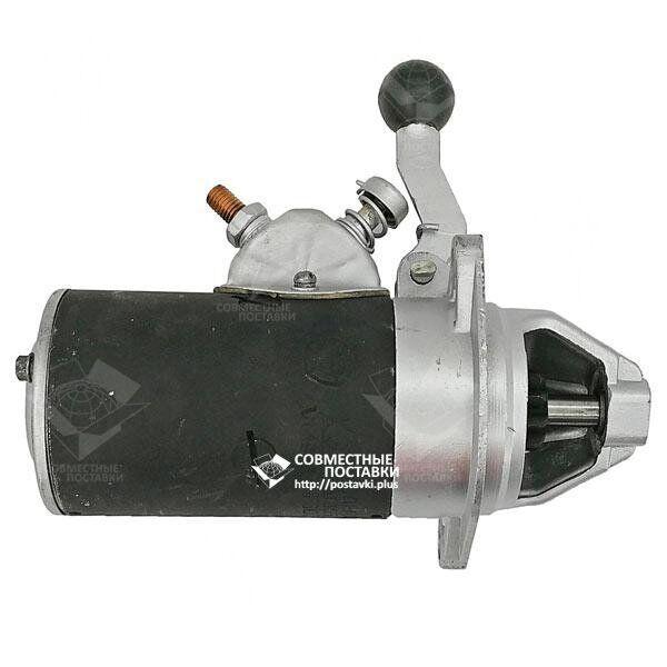 Стартер ПД-10, П-350 12В 0,67 кВт СТ-362 (СТ362А-3708) ручной запуск (механический)