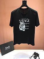 Мужская футболка D&G (Дольче Габбана) арт. 48-02