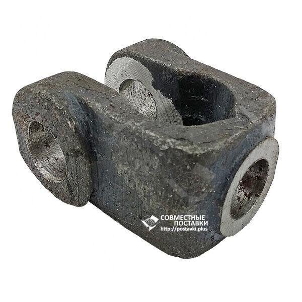 Проушина (вилка) штока гидроцилиндров ЦС-75, ЦС-100 под палец 25 мм