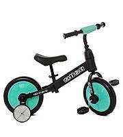 Велобег (беговел) - велосипед детский Profi Kids на черной раме