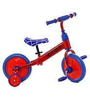 Велобег (беговел) - велосипед детский Profi Kids 12 дюймов разные цвета
