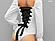 Женский боди Анжелика маркиза ангелов с шнуровкой, фото 3