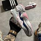 Женские кроссовки Adidas Magmur Runner White Pink / Адидас Магмур Белые Розовые, фото 3