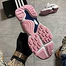 Женские кроссовки Adidas Magmur Runner White Pink / Адидас Магмур Белые Розовые, фото 4