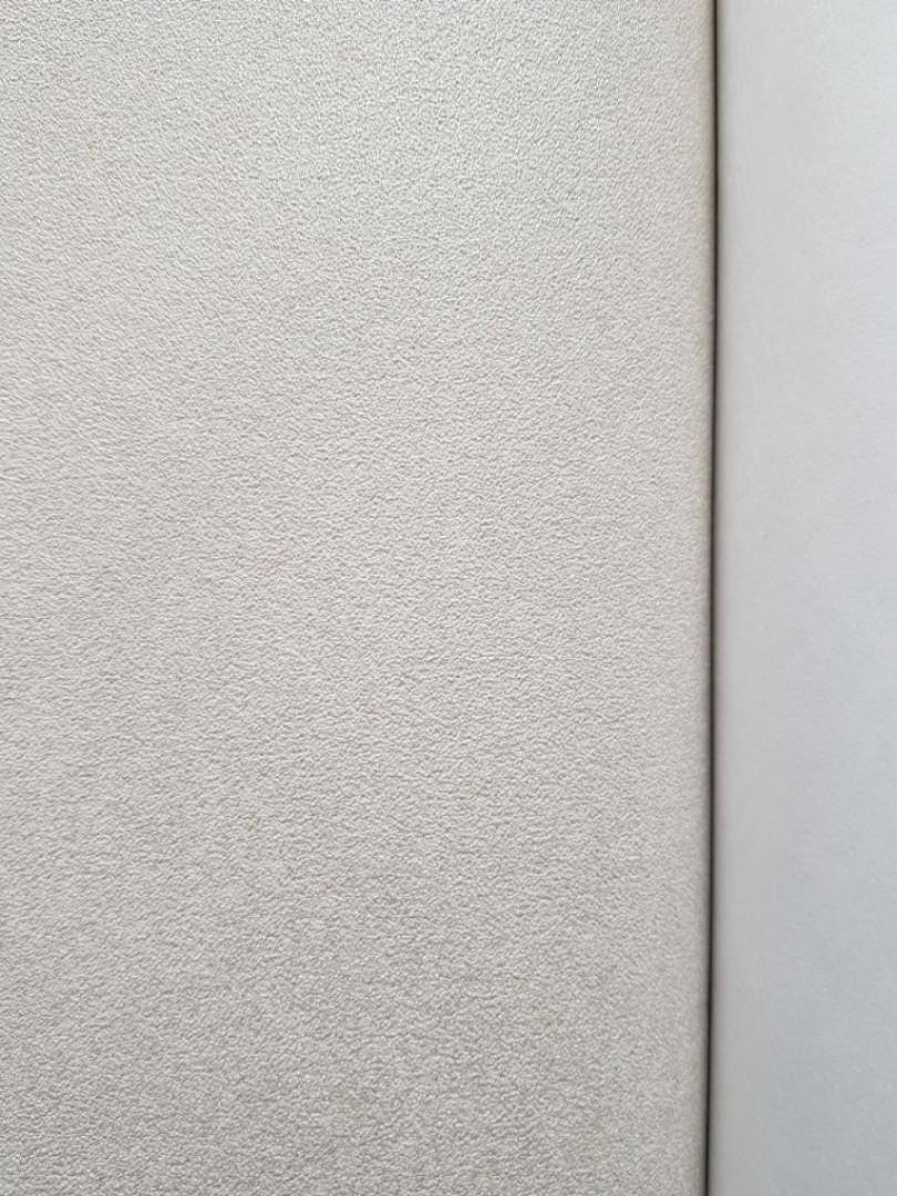 Обои виниловые на флизелиновой основе  Marburg 31386 Origin  метровые однотонные молочные с серебром
