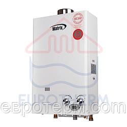 Газовая колонка Matrix JSD-20 Турбо 10 литров/минута