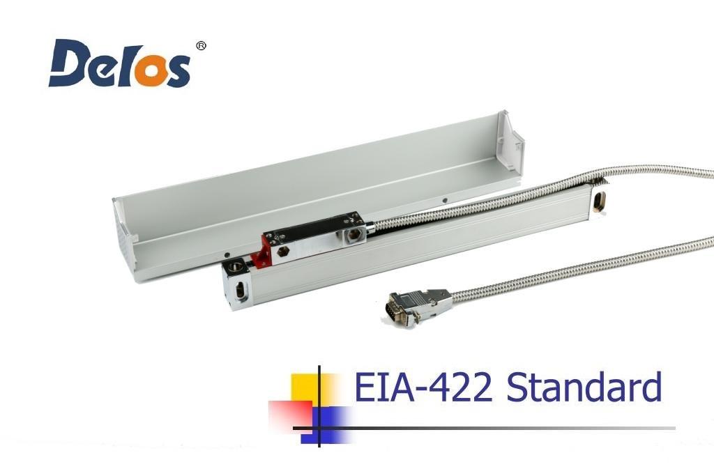 Оптическая линейка Delos DLS-W5R1200 (измеряемая длина 1200 мм) 5 мкм 5 вольт EIA-422A