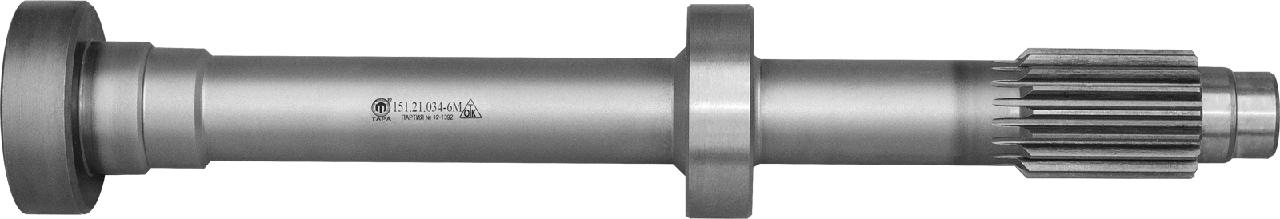 Вал 151.21.034-6М главного сцепления Т-150К (Усиленный) ТАРА