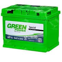 Аккумулятор Green Power 60 А.З.Г. со стандартными клеммами | L, EN540 (Азия)