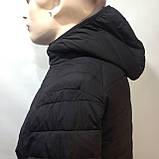 М, Л р. Чоловіча весняна куртка легка чорна демісезонна маломеркі, фото 3