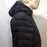М, Л р. Чоловіча весняна куртка легка чорна демісезонна маломеркі, фото 7