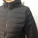 М, Л р. Чоловіча весняна куртка легка чорна демісезонна маломеркі, фото 4