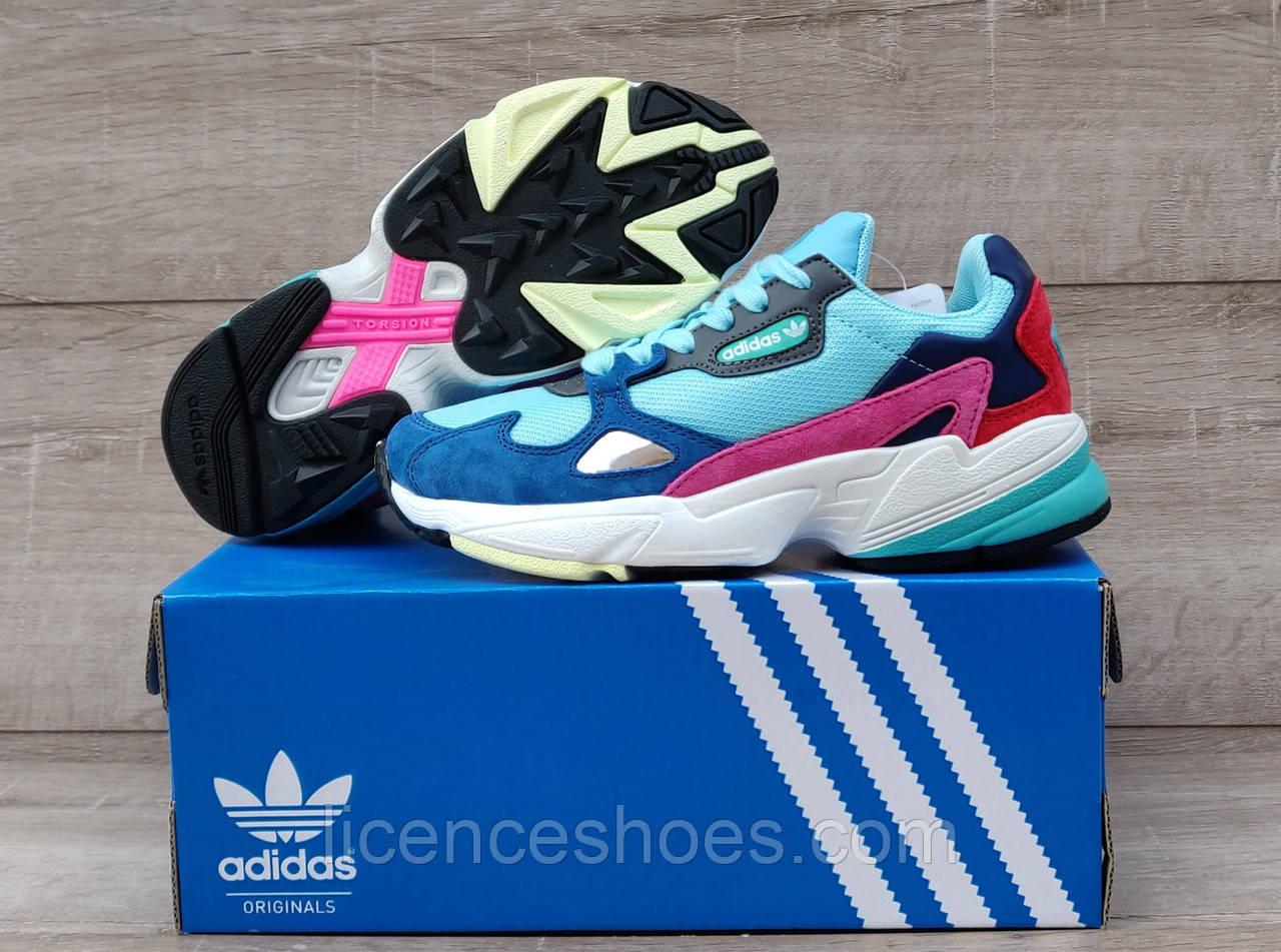 Жіночі кросівки Adidas Falcon W (MINT / PINK / BLUE) BB9180