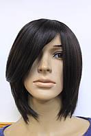 Парик искусственный стрижка каре цвет волос шоколад