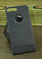 Защитный чехол на Iphone 7 Plus / 8 Plus карбон
