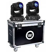 Светодиодная голова LIGHT4ME PATRIOT BEAM 180 LED SET (2 шт + кейс)