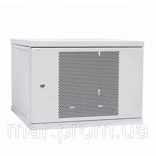 Шкаф коммутационный настенный 15U 600x450 перфорированная дверь