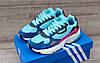 Подростковые, детские кроссовки Adidas Falcon W (MINT/ PINK / BLUE) BB9180, фото 5
