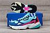 Подростковые, детские кроссовки Adidas Falcon W (MINT/ PINK / BLUE) BB9180, фото 4