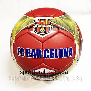 Мяч футбольный  BARCELONA (№5, 4 сл., сшит вручную) 0410-8