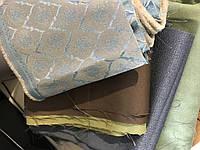 Комплект шторных остатков турецкой ткани в кусочках