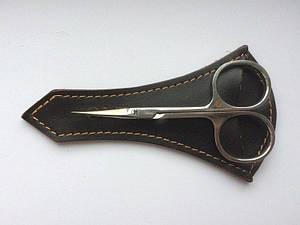 Маникюрные ножницы Olton 100мм в кожанном чехле