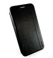 Чехол книжка противоударный боковой Gelius Leather для Xiaomi Redmi Note 8 черный