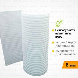 Вспененный полиэтилен, подложка под ламинат. Рулон 50 метров 8 мм