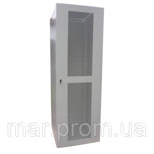 Шкаф коммутационный напольный 18U 600x600 перфорированная дверь