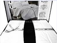 Постельный комплект, сатин-жаккард, NAZENIN, Lavida beyaz, Турция