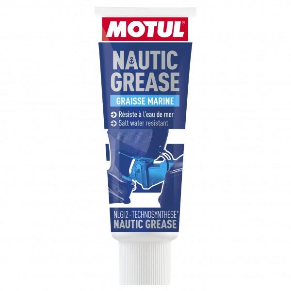 Смазка пластичная для водной техники кальциевая MOTUL Nautic Grease 200г. 104395/866612