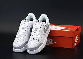Мужские кроссовки Nike Air Force 1 Low White Grey