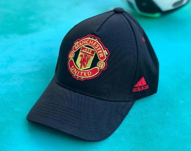 Кепка Манчестер Юнайтед черная хлопок