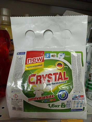 Порошок для ручной стирки Crystal 1.6кг, фото 2