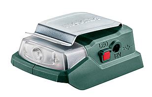 Аккумуляторный адаптер питания Metabo POWERMAXX PA 12 LED-USB (600298000)