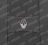 Авточехлы Renault Duster 2018- (з/сп. цельная) Nika, фото 4