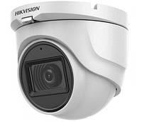5Мп Turbo HD видеокамера Hikvision с встроенным микрофоном DS-2CE76H0T-ITMFS