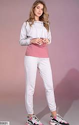 Спортивный костюм женский серый 65631
