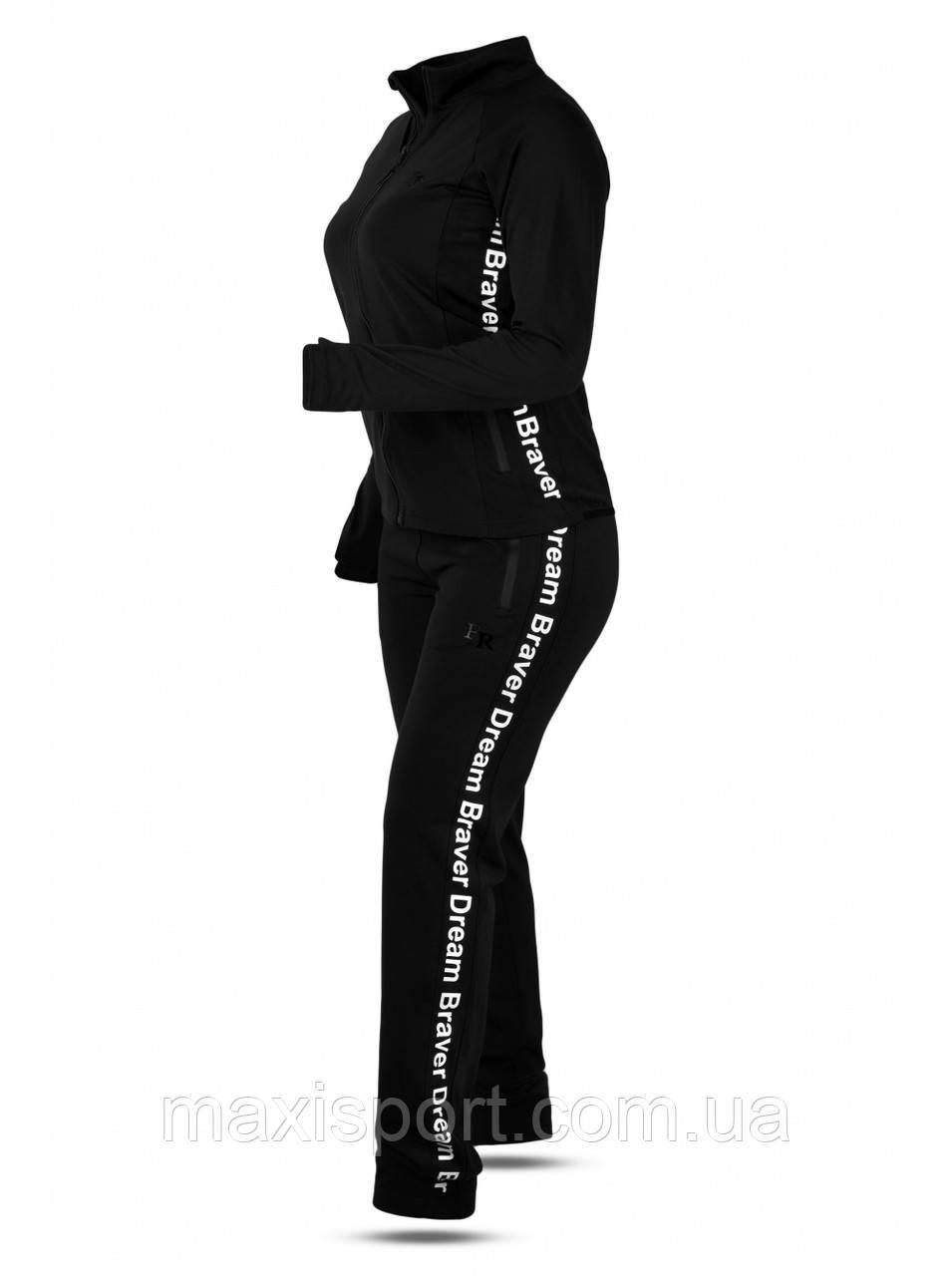 СПОРТИВНЫЙ КОСТЮМ ЖЕНСКИЙ Freever (5708) Черный, XL