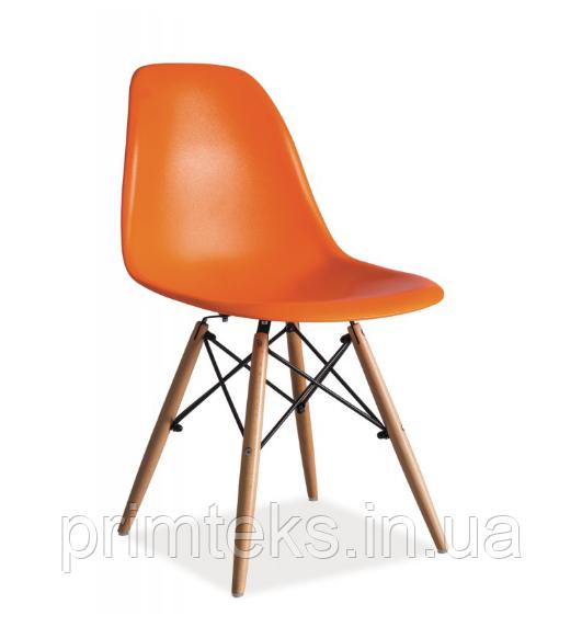Стул пластиковый Enzo ( Энзо) оранжевый