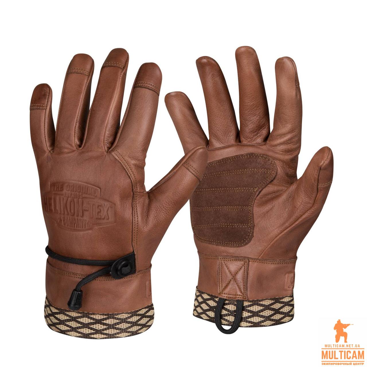 Рукавички Helikon-Tex® Woodcrafter Gloves - U. S. Brown