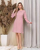 Платье женское принт Горошек в расцветках 60142, фото 1