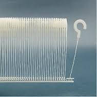 Пластиковые соединители с крючком (держатели бирок) 45/50 мм для стандартных тканей 5000 шт