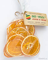 Эко чипсы апельсиновые , 30г