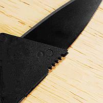 Нож складной кредитная карта Feng Xing компактный универсальный походный туристический, фото 6