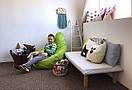 Кресло Мешок Пуфик Груша Оксфорд Средний размер, фото 3