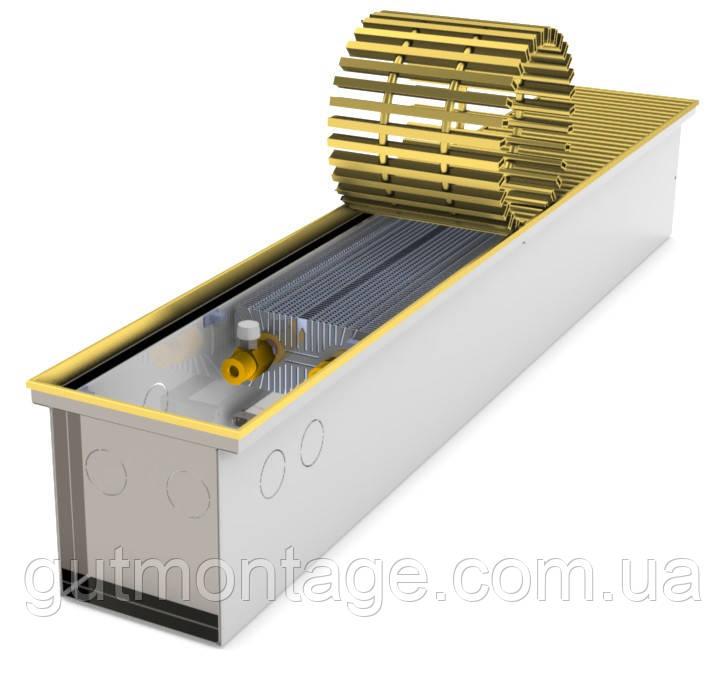Конвектор в пол КПТ 160.1750.160. Для панорамного остекления. Дизайн радиатор. Гарантия 5лет. Монтаж Одесса.