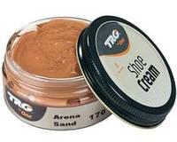 Крем - краска для обуви и изделий из кожи песочный Trg Shoe Cream, 50 мл