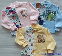 Детская кофточка для новорожденных 74р интерлок (74,80,86) 930