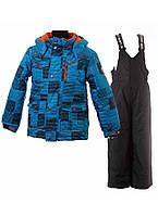 Комплект зимний для мальчиков Gusti Boutique 4603 GWB MALIBU BLUE. Размеры 92 - 140. , фото 1